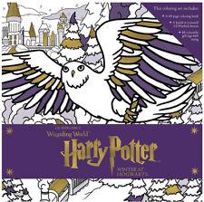 Harry Potter Magical Coloring Set Winter at Hogwarts - New Sealed