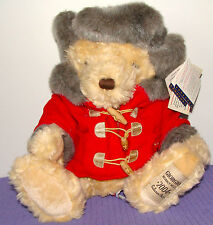 GIORGIO BEVERLY HILLS COLLECTOR'S BEAR 2004 LTD. EDITION #1866/3260 SITTING 12""