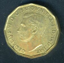 GREAT BRITAIN 1943 THREEPENCE KING GEORGE VI COIN AS SHOWN