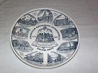 VINTAGE 1776-1976 AMERICAN REVOLUTION BICENTENNIAL PLATE SALEM OHIO