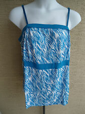 NEW WOMENS LANE BRYANT EMPIRE WAIST TUBE TOP WITH REMOVABLE STRAPS 18/20 2X