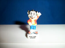 Li'l Bad Wolf from Three 3 Little Pigs Mini French Porcelain Feves Tiny Figurine