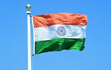3X5 INDIA FLAG INDIAN COUNTRY FLAGS NEW BANNER Polyester Banner Flying 150* 90cm