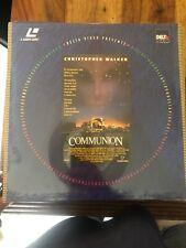 Laserdisc Neuf: Communion/ Blister