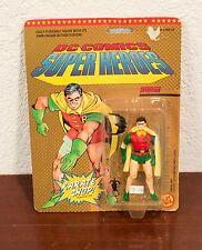 1989 DC COMICS SUPER HEROES BATMAN KARATE CHOP ROBIN ACTION FIGURE TOY BIZ MOC