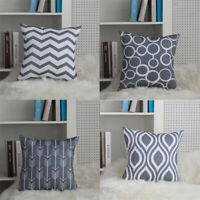 4PCS Fashion Geometric Pillow Case Ofice Shop Library Cushion Cover Home Decor