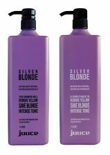 Juuce Silver Blonde INTENSE TONING Shampoo & Conditioner 1000ml /1Litre