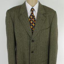 42 L Banana Republic Brown Tweed Wool 3 Btn Mens Jacket Sport Coat Blazer Mint