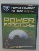 Power Triangle Method By Bobby Wilson POWER BOOSTERS New Sealed DVD Set