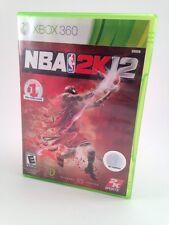 Microsoft XBox 360 Game NBA 2K12 - Complete!