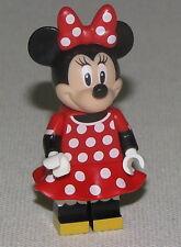 Lego New Minnie Mouse Red Polka Dot Dress 71040 Minifigure Figure