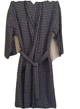 TOMMY HILFIGER ROBE ONE SIZE Blue Plaid NIGHTWEAR BATHROBE SLEEPWEAR
