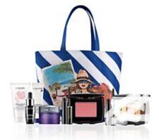 Lancome Bloomingdales 7 PcTravel Skin Care & Makeup Set ,Lancome Tote Sealed Bag