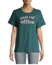 """New listing Time And Tru """"Out Of Office"""" Graphic Size L (12- 14) Tee CUTE """"New With Tags"""""""