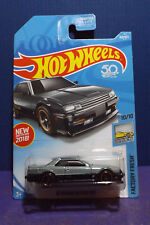 2018 Hot Wheels '82 NISSAN SKYLINE R30 in SILVER- HW FACTORY FRESH 10/10 US Card
