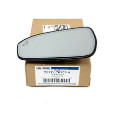 13-17 Ford Fusion Left Side View Mirror w/ Blind Spot Monitor OEM DS7Z-17K707-H