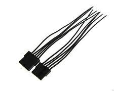 5P 5-Pin 3.0mm 5557 Wire to Wire Pluggable Connector w/ Cable - Pack of 2