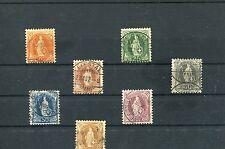 Schweiz - Nr.58 - 64  o - KW 60,-- € ( 13833 )