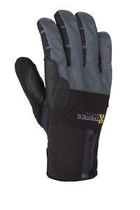 Carhartt Men's Bad Axe Gloves, Black/Grey, Small