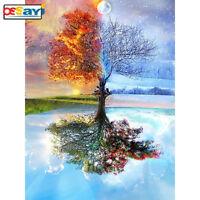 DIY 5D Diamond Painting Seasons Tree Home Decor Embroidery Cross Stitch