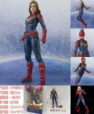 "SHF Marvel Avengers 4 Endgame Captain Marvel 6"" Action Figure S.H. Figuarts"