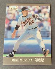 Mike Mussina 1991 Upper Deck & Score RC Rookie HOF Yankees Orioles