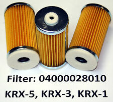 Filter for Orion/JVP Dry Vacuum Pumps KRX-3, KRX-5, 04000028010 One filter