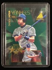 Derek Jeter 1995 Pinnacle Zenith Rookie Roll Call RC