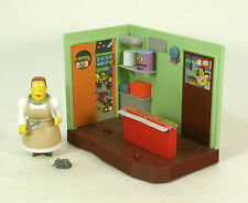 Playmates World Of Springfield The Simpsons WOS Elementary Cafeteria Loose