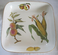 ROYAL WORCESTER EVESHAM OVEN TO TABLE LARGE SQUARE  BAKING DISH