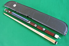 BRAND NEW NO. 8 BALL SNOOKER POOL CUE + soft cue case