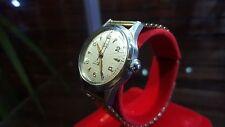 Womans Lauris Swiss auto Wrist Watch Gold Hands & Bracelet - Bakerlite Case