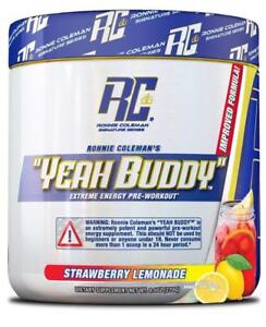 """Ronnie Coleman ALL NEW """"YEAH BUDDY"""" Ultimate Pre-Workout 30 Servings PICK FLAVOR"""
