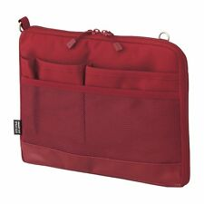 Lihit Lab. Bag in bag SMART FIT ACTACT Red A5 size  A7680-3 26x25x20cm MIJ