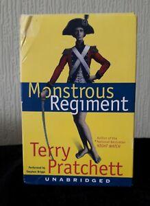 MONSTROUS REGIMENT (Discworld) Terry Pratchett, UNABRIDGED 8-Cassette Set