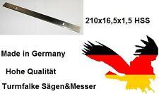 Hobelmesser ATIKA ADH 204 Abrich Dickenhobel 2 Stück