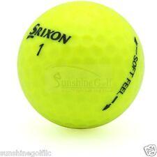 24 Near Mint Srixon Soft Feel Yellow AAAA Used Golf Balls - FREE SHIPPING