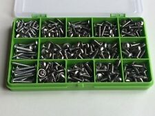 Stainless Steel Self Tapping Screws Pozi Flange Head Trim Screw Assorted 320 pcs