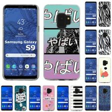 Thin Gel Design Protective Phone Case Cover for Samsung Galaxy S9,Yabai Print