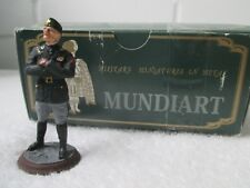 Mundiart Hand Painted Spain Miniature Metal Mussolini Toy Soldier Boxed