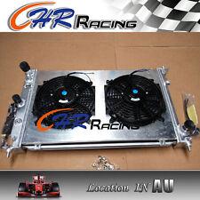 Aluminum Radiator + Shroud+fan for Ford BA BF Falcon V8 Fairmont XR8 & XR6 Turbo