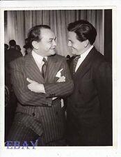 Edward G Robinson John Garfield VINTAGE Photo candid 1940