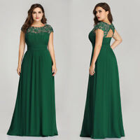 Ever-Pretty Women Green Bead Prom Gown Dress Cap Sleeve Party Bridesmaid Dresses