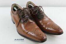 LE BOTTIER Brown Leather Boots size Eu 44