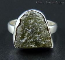 Ring * 925er Sterlingsilber * Moldavit * RG 61
