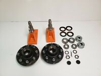 Superior Quick-Set Shipping Container Wheels, 8 x 6.5 Lug Spindle Kit (1 Set)