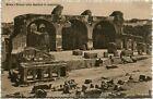 Primi anni 1900 Roma - Avanzi della Basilica di Costantino - FP B/N