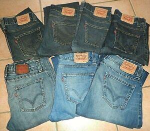 JEANS LEVI'S 506 STANDARD jeans zippé W27 W28 W29 W30 W31 W32 W33 W34 W36