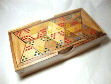 New Wooden Tri-Ominos Dominoes Game Replacement Parts or Thai Handcraft