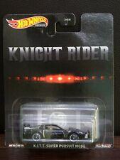 Hot wheels KITT Super Pursuit Mode Knight Rider Premium GJR38 coche fantastico